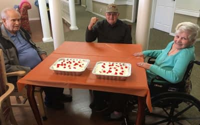 Morning Pointe Resident Assistant Shares Love of Baking with Residents