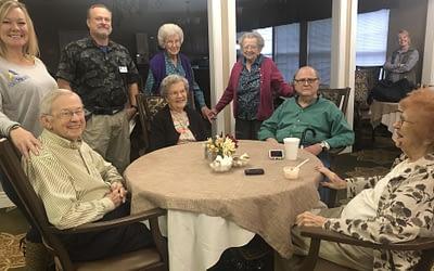 Abilis Home Health Sponsors Ice Cream Social for Morning Pointe Residents