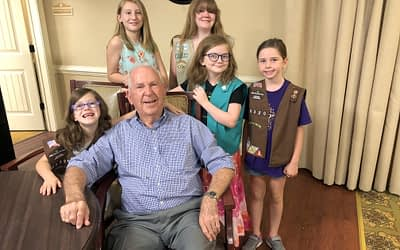"Morning Pointe ""Grandpa & Me Ice Cream Social"" with Local Girl Scouts a ""Huge Success"""