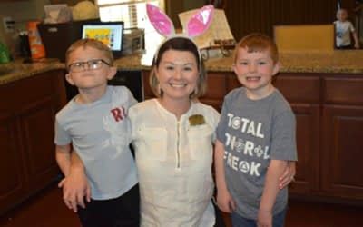 Morning Pointe Hosts Community Easter Egg Hunt
