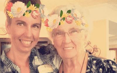 Morning Pointe Seniors Explore Snapchat