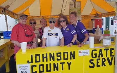 Morning Pointe Family Proud of Hard Work at the Johnson County Fair