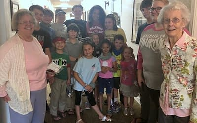 Highland Hills Church Summer Camp Visits Morning Pointe