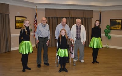 Morning Pointe of Louisville Gets Lucky with Irish Performance