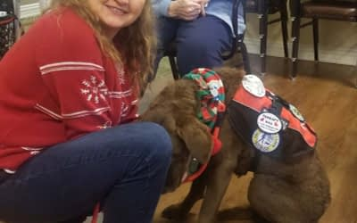Third Generation Therapy Dog Brings Smiles to Morning Pointe Residents