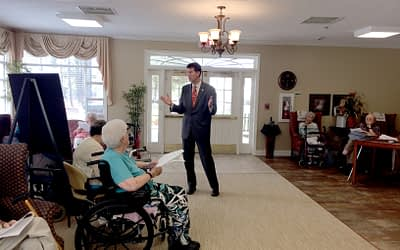 Alabama Secy of State Talks Amendments at Morning Pointe