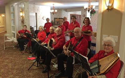 T-Town Strummers Bring Folk Music to Morning Pointe