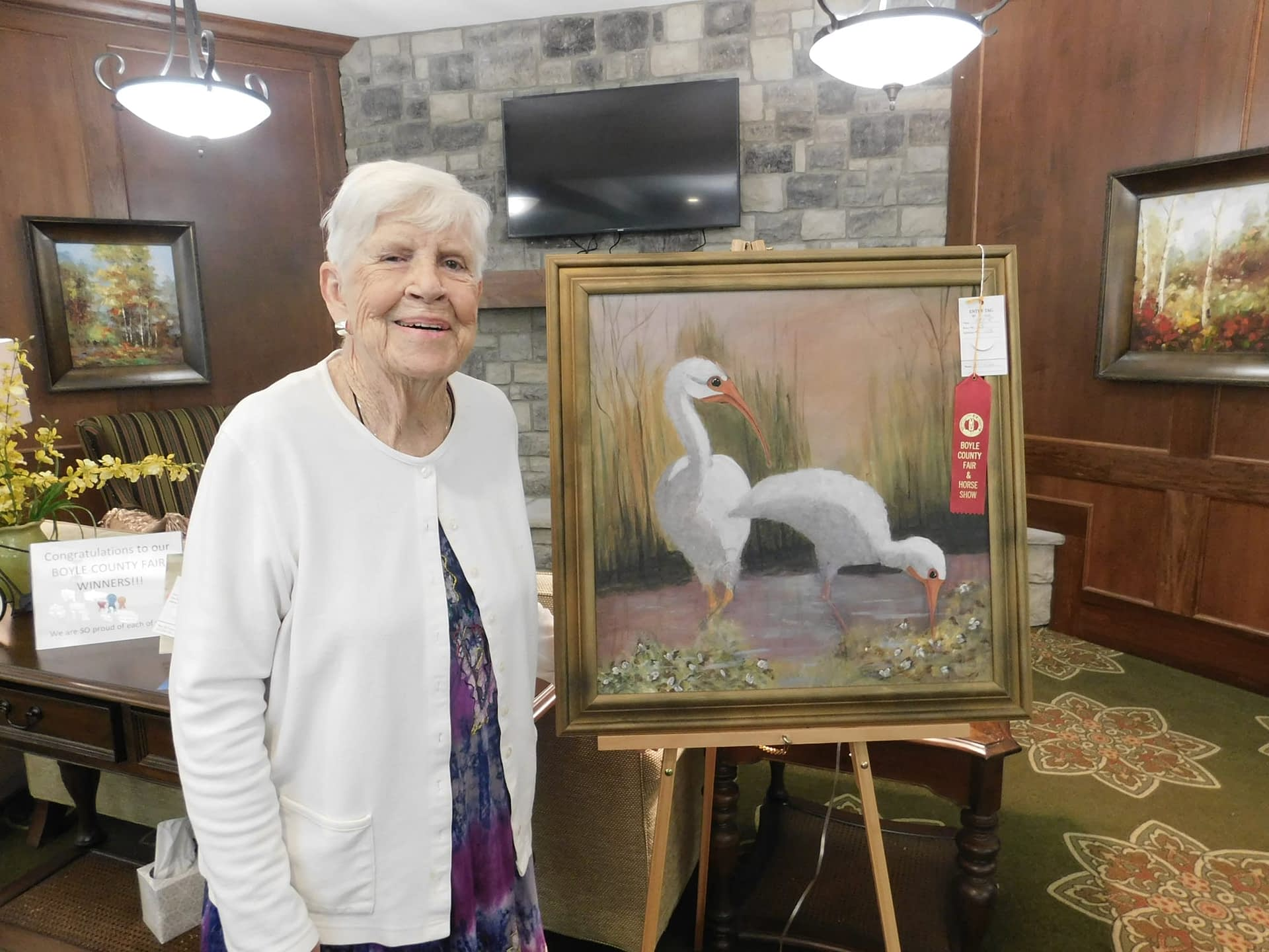 Morning Pointe Residents Win Ribbons at Danville-Boyle